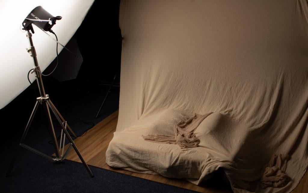 Atherton photo newborn baby set up