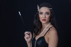 1920s makeover photoshoot