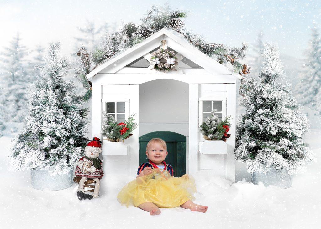 Christmas session photography